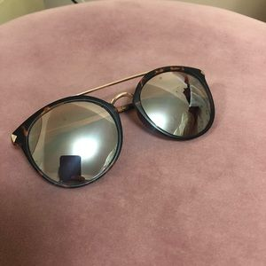 Nordstrom BP Sunglasses 55m Mirrored Sunglasses
